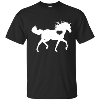 Your Heart And My Heart Horse T Shirt