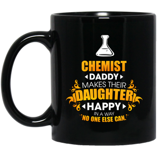 Chemist Daddy Makes Their Daughter Happy Mugs