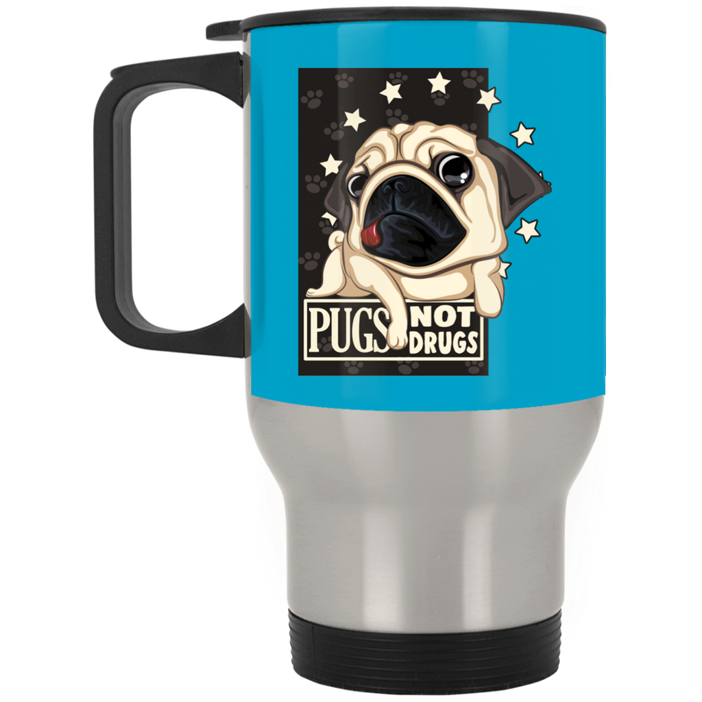 Pugs Not Drugs Pug Mugs For Lover