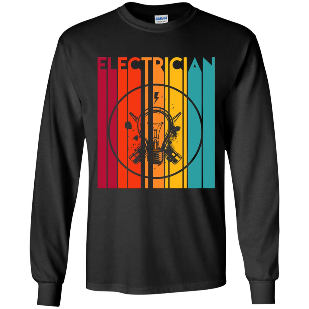 Retro Electrician Vintage T Shirt