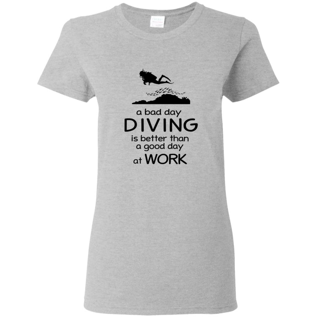 A Bad Day Of Diving Is Better Than The Good Day At Work