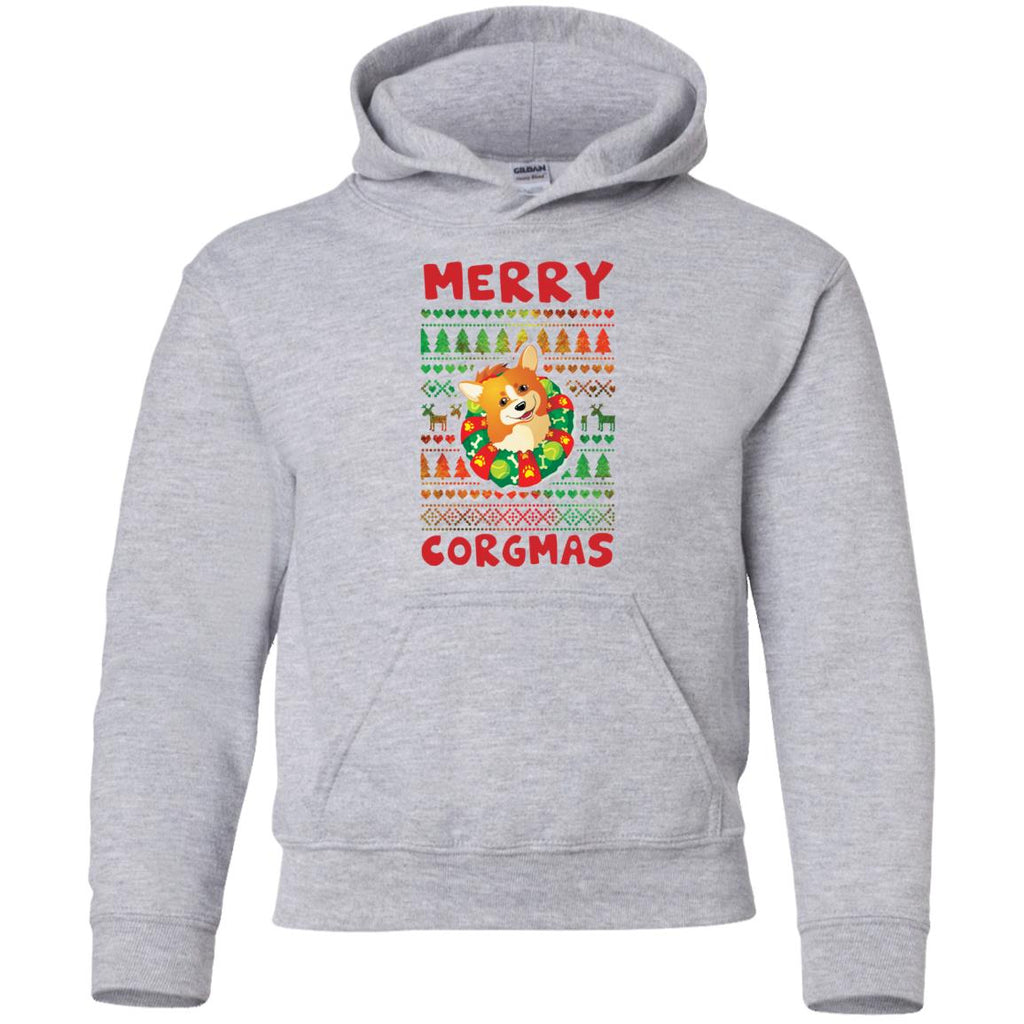 White Merry Corgmas Awesome Christmas Corgi TShirt For Lover