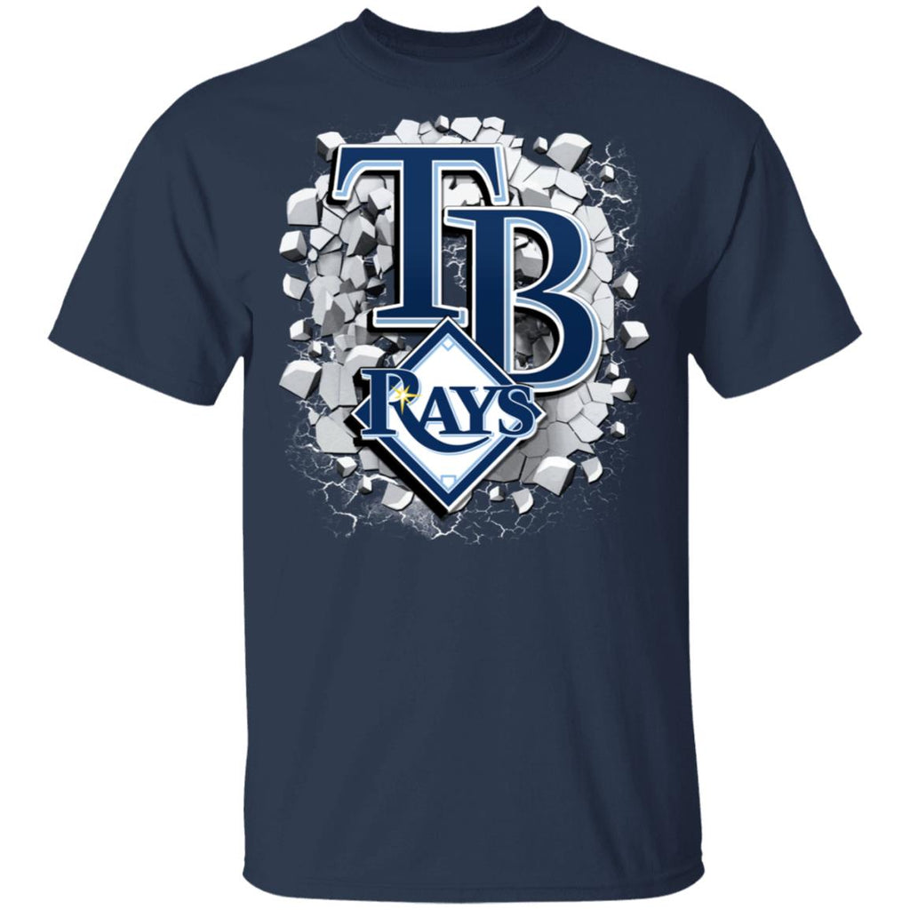 Amazing Earthquake Art Tampa Bay Rays T Shirt