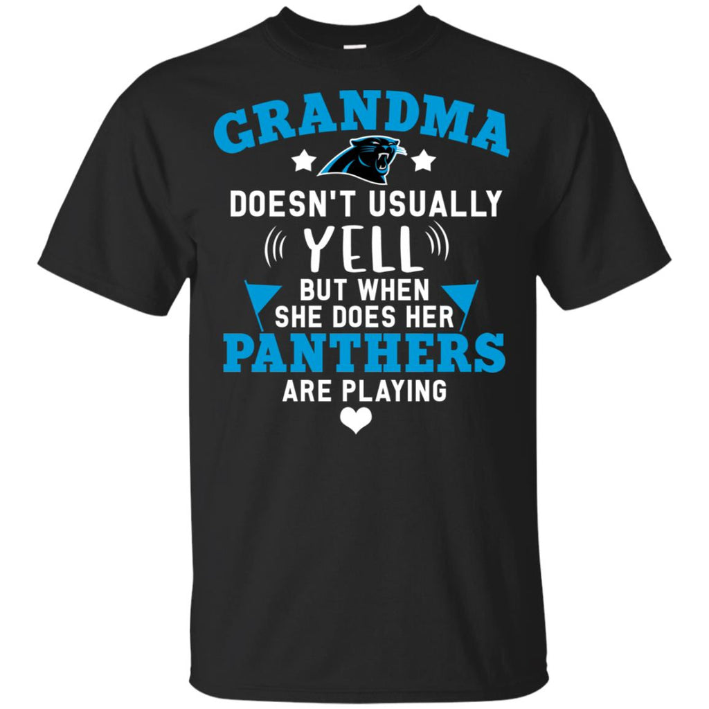 Cool But Different When She Does Her Carolina Panthers Are Playing T Shirts