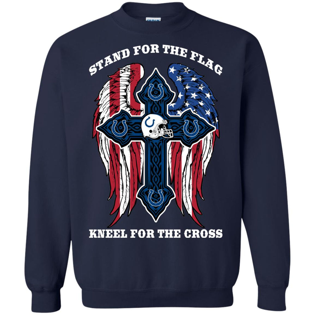 Stand For The Flag Kneel For The Cross Indianapolis Colts Tshirt