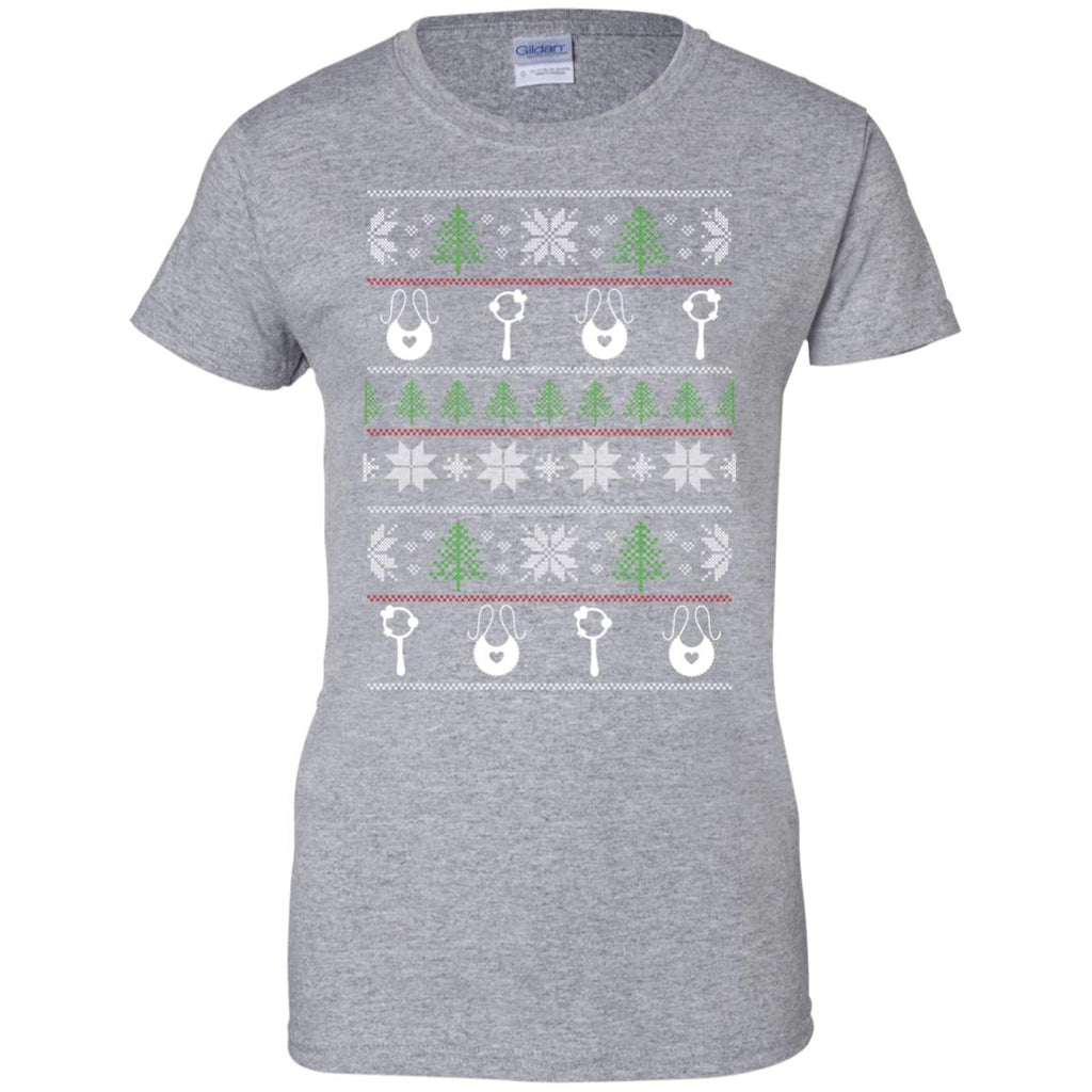 Ugly Sweater Childcare Worker Symbol Tee Shirt Gift