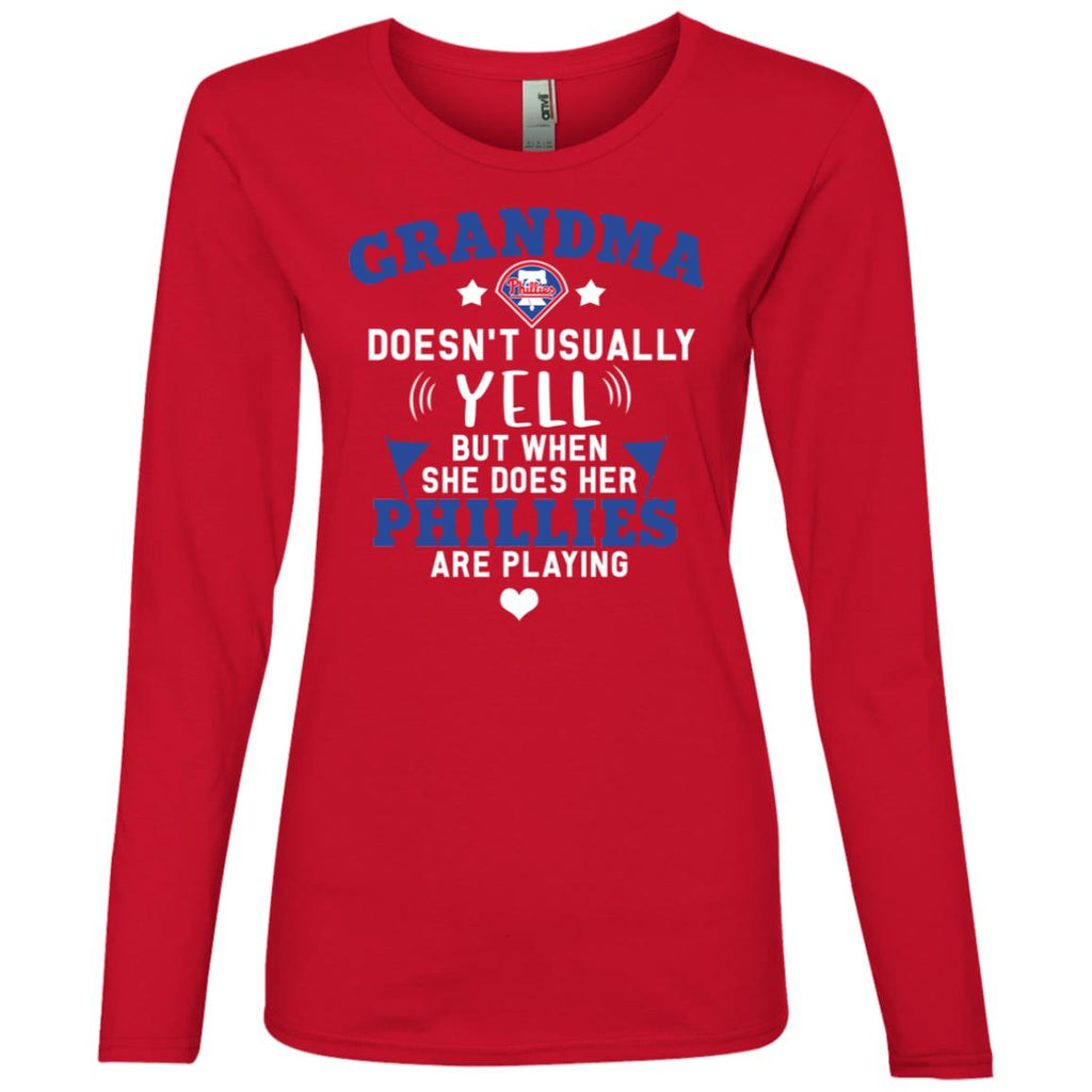 Cool But Different When She Does Her Philadelphia Phillies Are Playing Tshirt