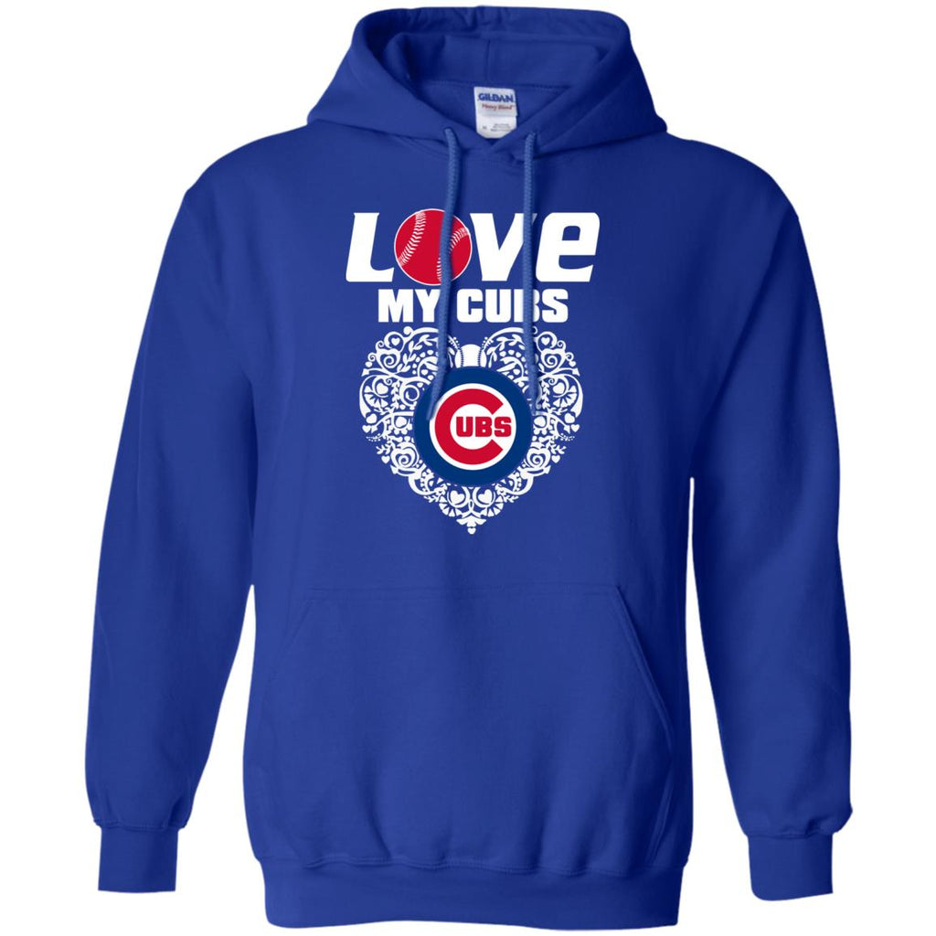 I Love My Teams Chicago Cubs T Shirt