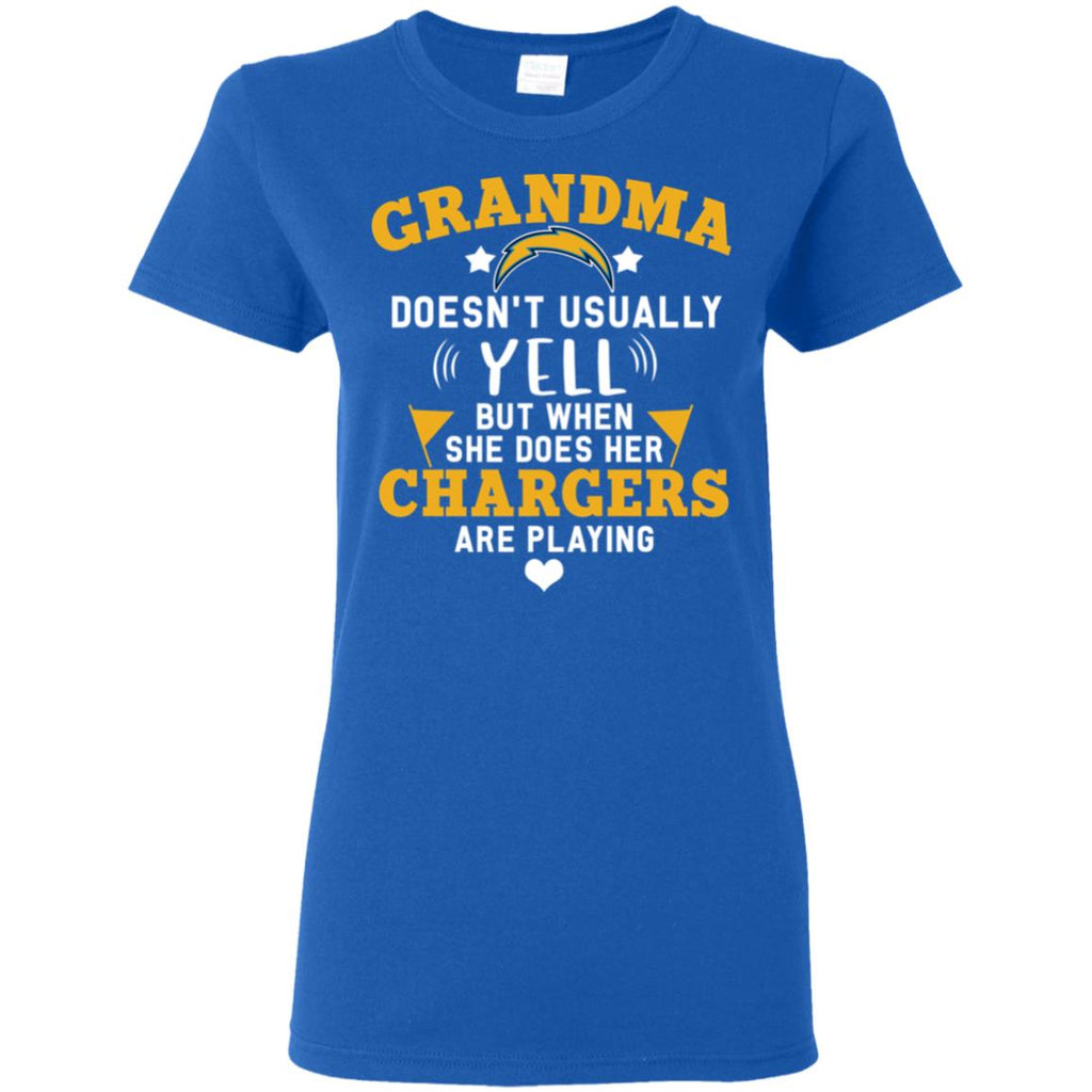 Cool But Different When She Does Her Los Angeles Chargers Are Playing T Shirts