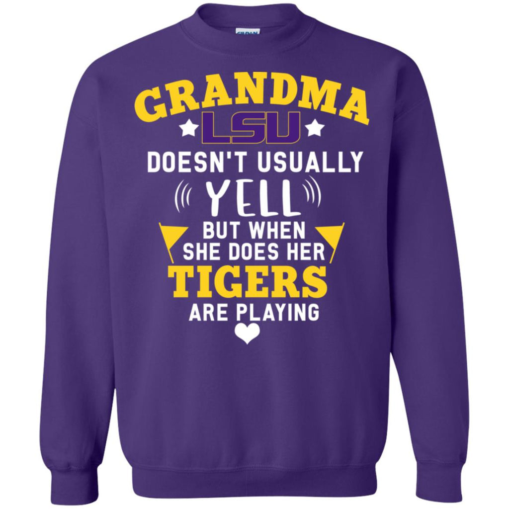 Cool But Different When She Does Her LSU Tigers Are Playing Tshirt
