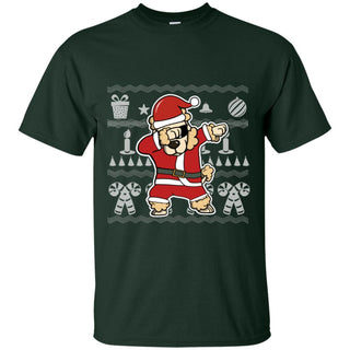 Poodle Dabbing In Christmas Tshirt For Poo Dog Lover