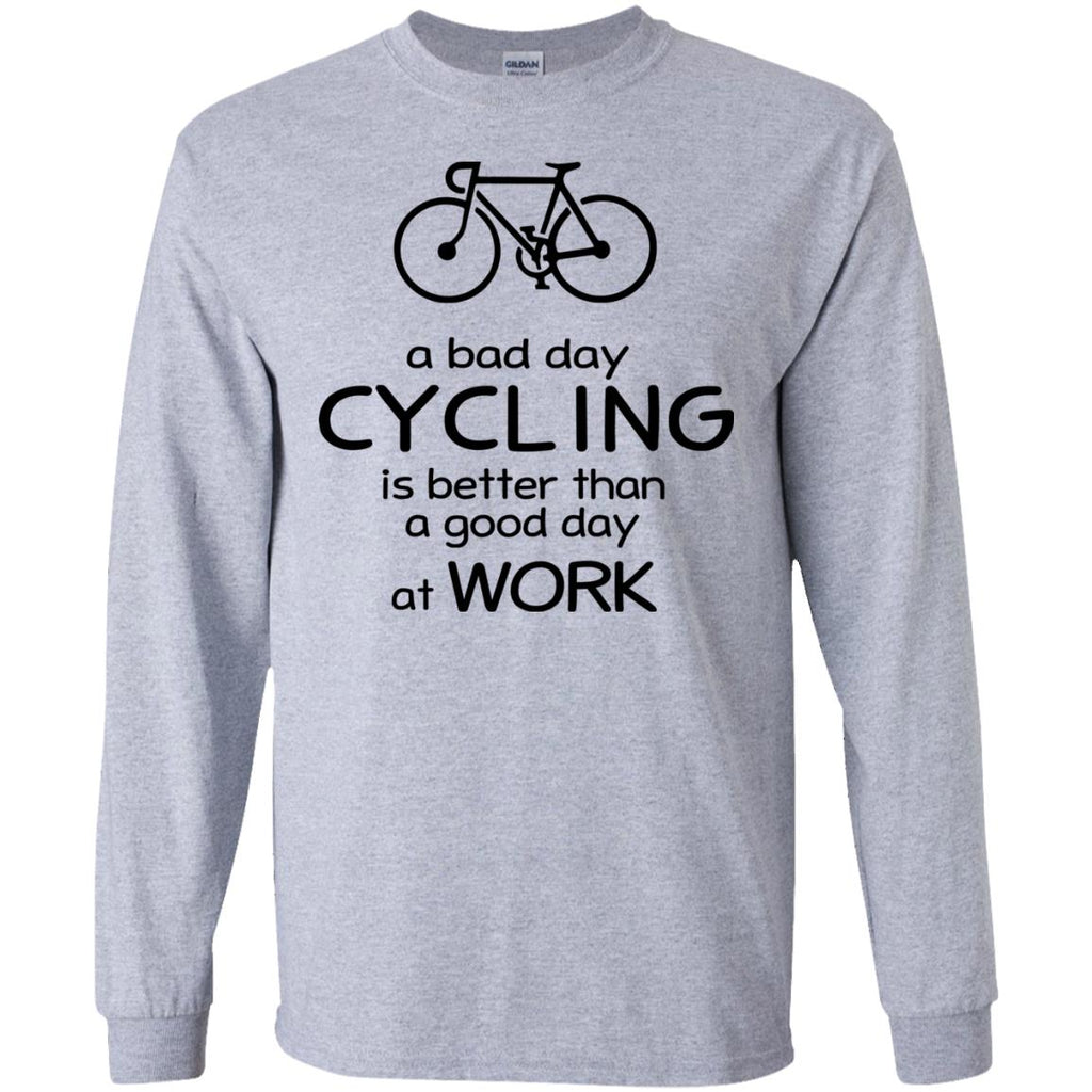 A Bad Day Of Cycling Is Better Than The Good Day At Work