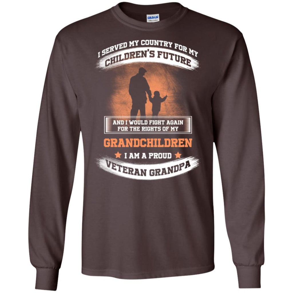 Incredible I Am A Proud Veteran Grandpa T Shirts