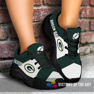 Pro Shop Logo Green Bay Packers Chunky Sneakers
