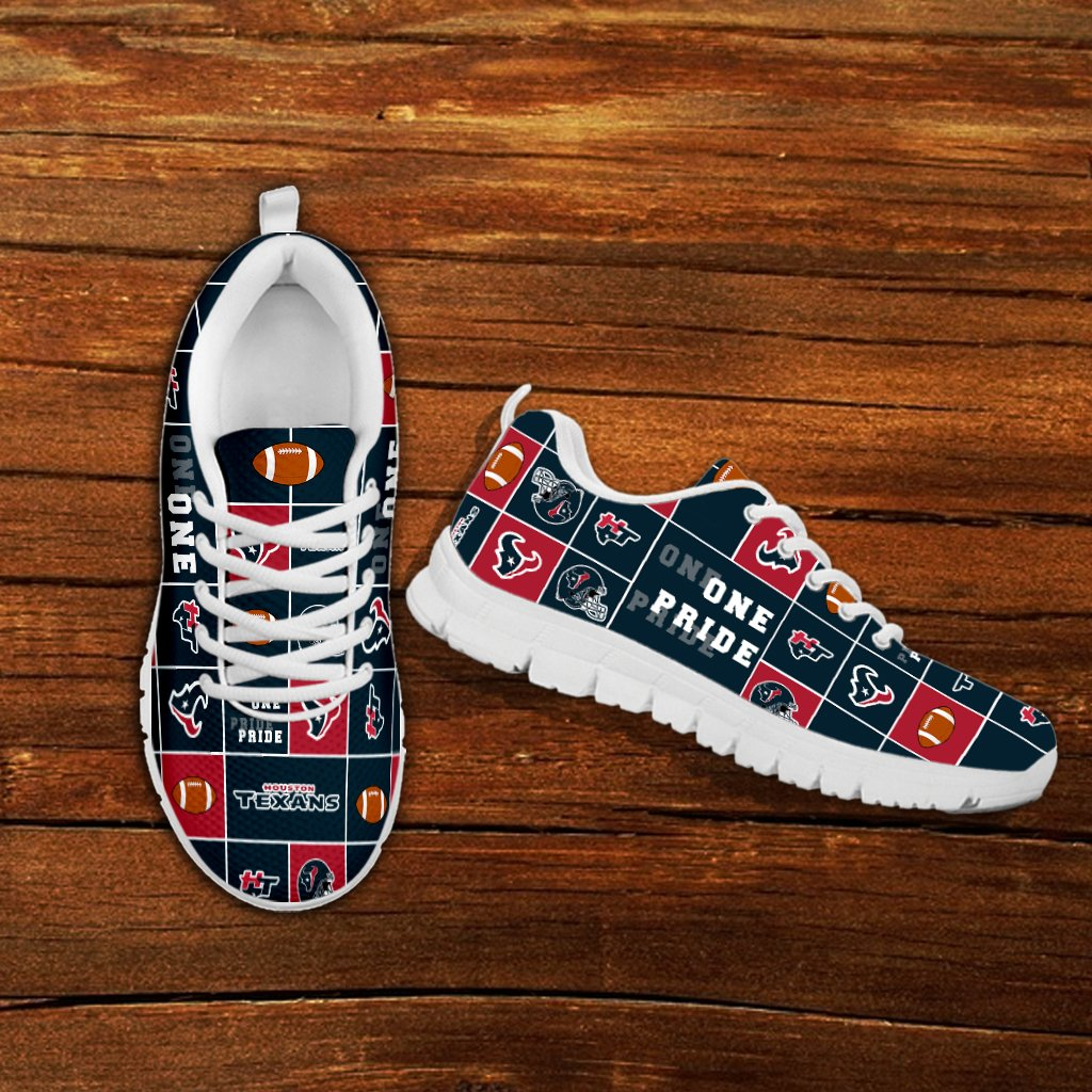 Awesome Pride Flag Houston Texans Sneakers