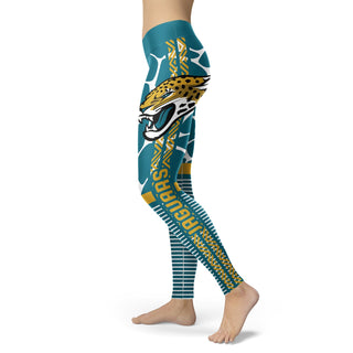 Awesome Light Attractive Jacksonville Jaguars Leggings