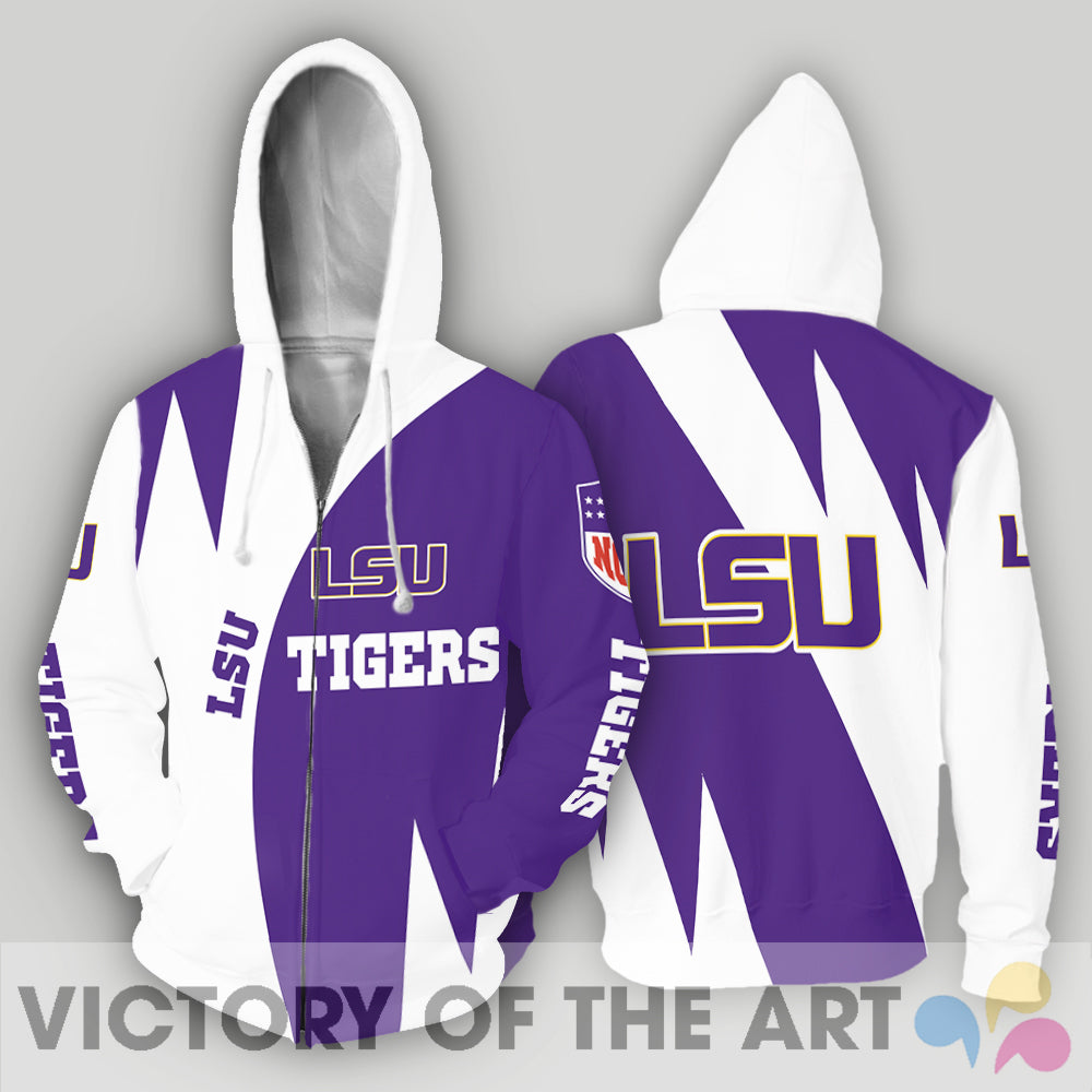 Stronger With Unique LSU Tigers Hoodie