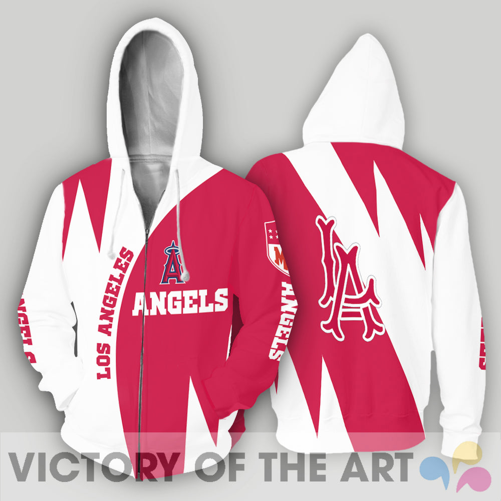 Stronger With Unique Los Angeles Angels Hoodie