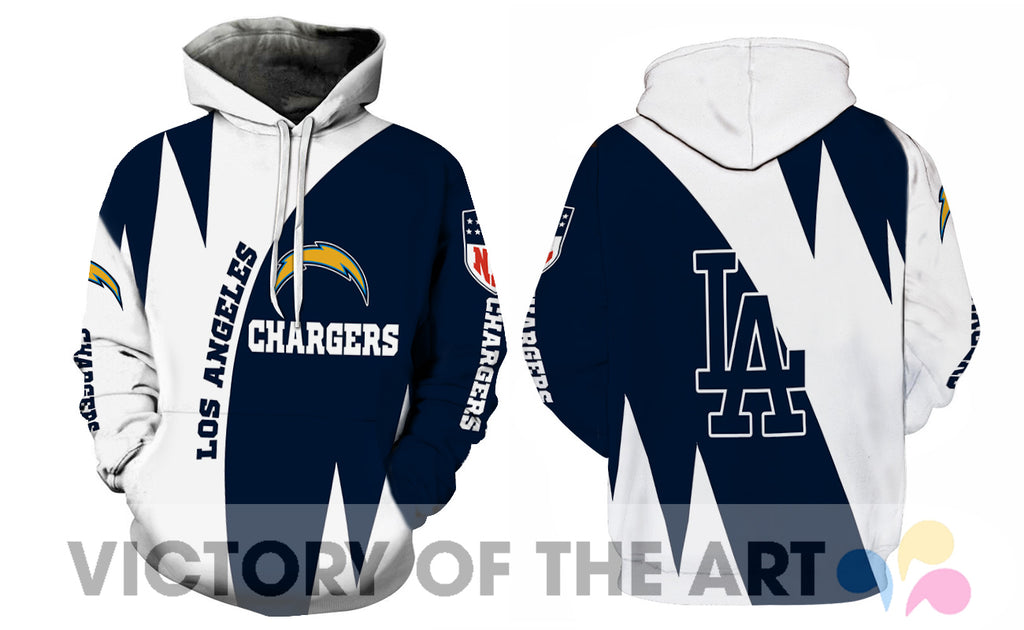 Stronger With Unique Los Angeles Chargers Hoodie