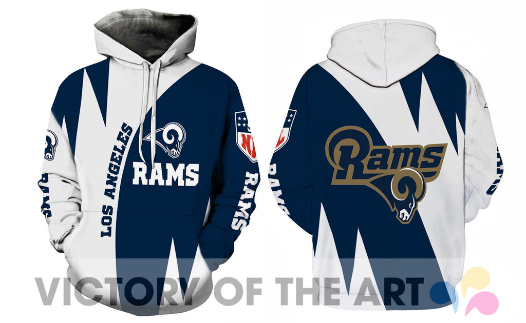Stronger With Unique Los Angeles Rams Hoodie