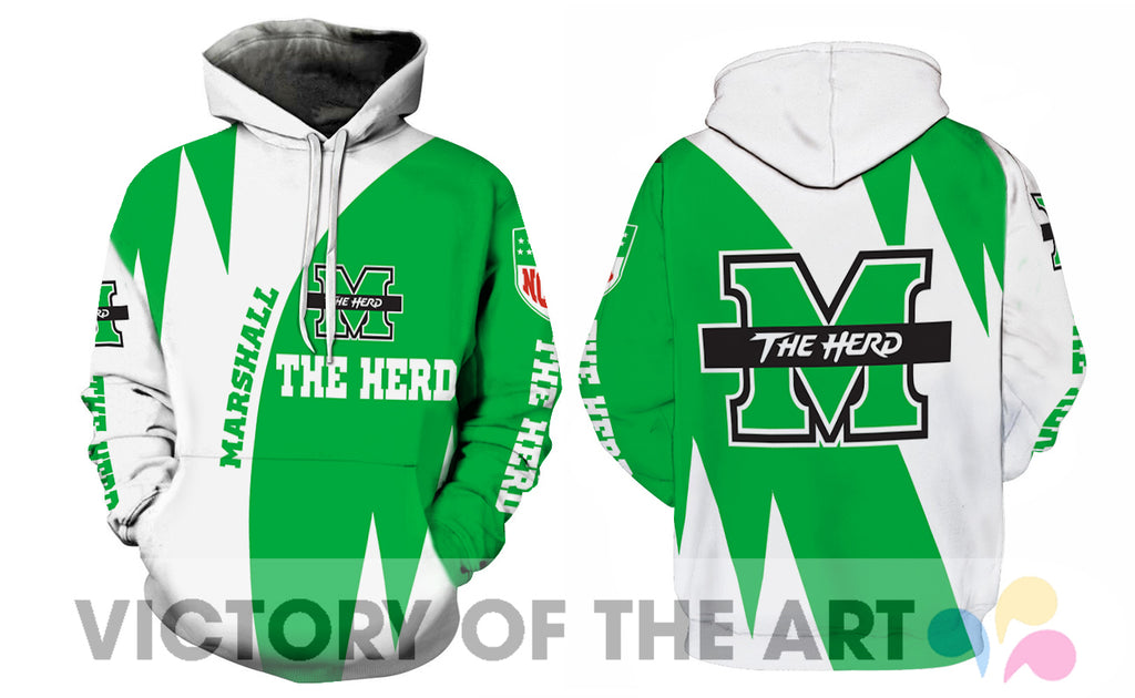 Stronger With Unique Marshall Thundering Herd Hoodie