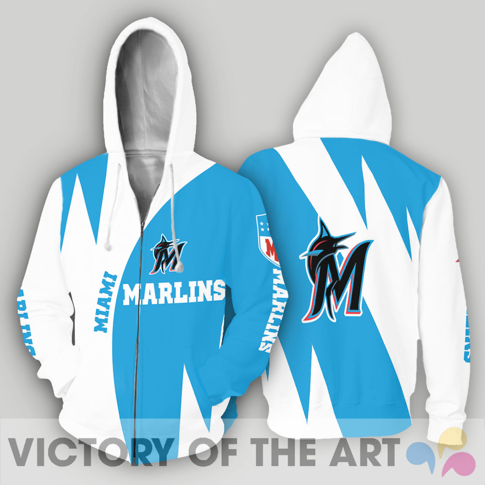 Stronger With Unique Miami Marlins Hoodie