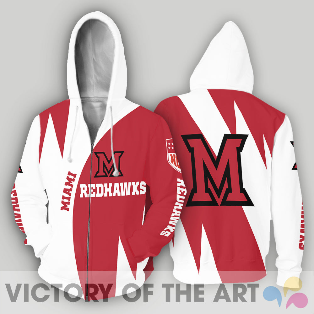Stronger With Unique Miami RedHawks Hoodie