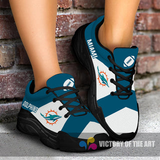 Pro Shop Logo Miami Dolphins Chunky Sneakers