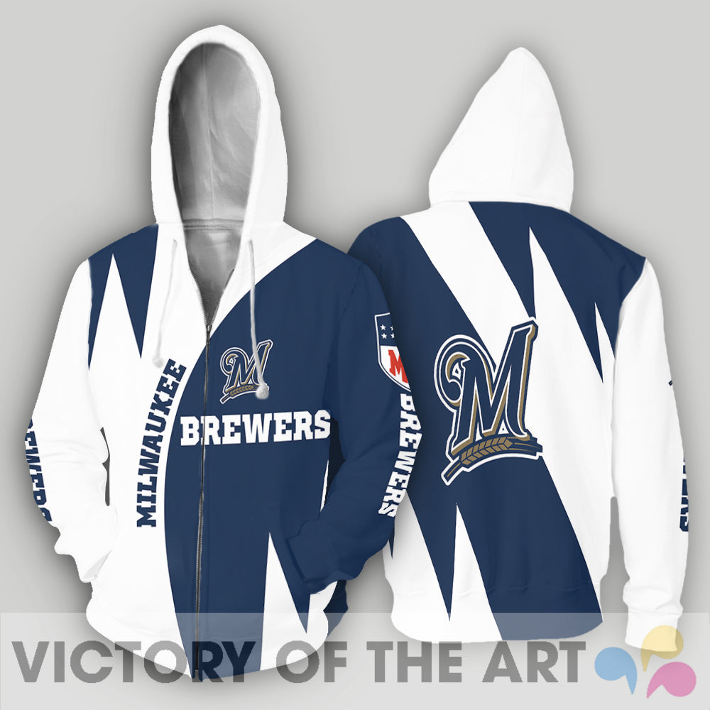 Stronger With Unique Milwaukee Brewers Hoodie