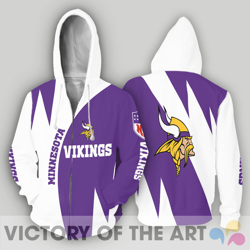 Stronger With Unique Minnesota Vikings Hoodie