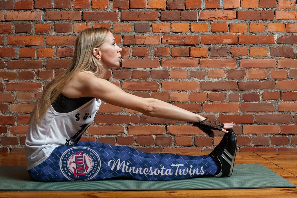 Cosy Seamless Colorful Minnesota Twins Leggings