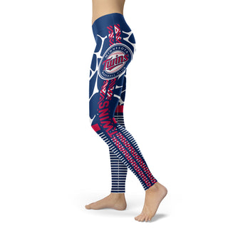 Awesome Light Attractive Minnesota Twins Leggings