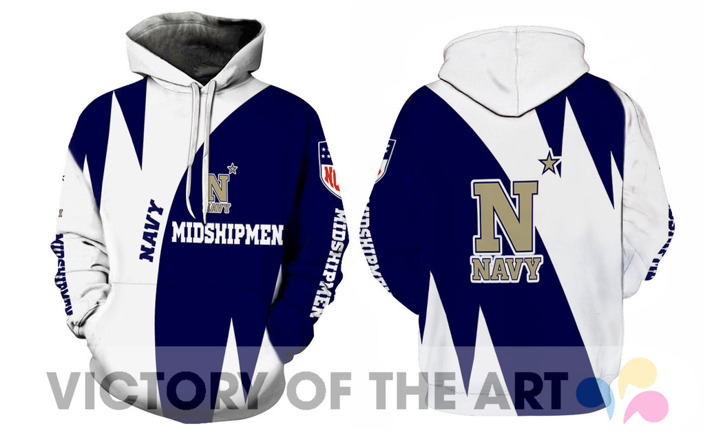 Stronger With Unique Navy Midshipmen Hoodie