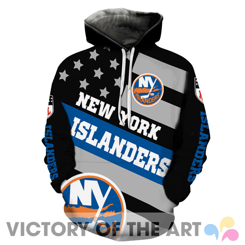 American Stars Proud Of New York Islanders Hoodie