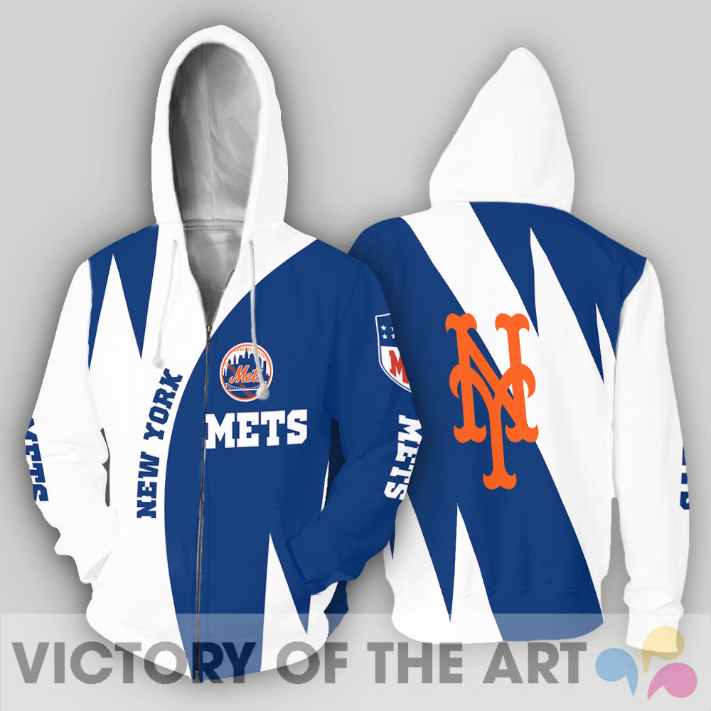 Stronger With Unique New York Mets Hoodie