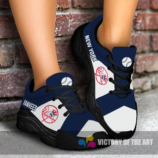 Pro Shop Logo New York Yankees Chunky Sneakers