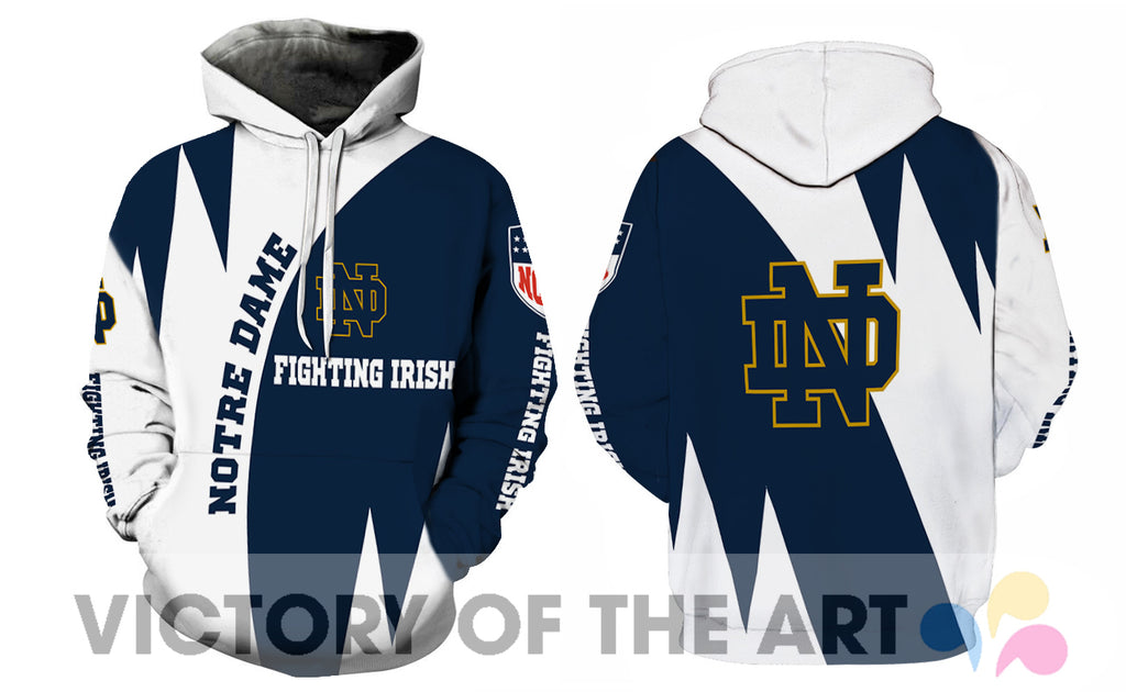 Stronger With Unique Notre Dame Fighting Irish Hoodie