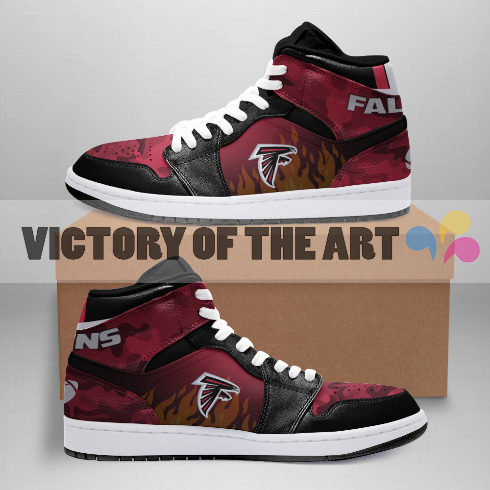 Pro Shop Camo Logo Atlanta Falcons Jordan Sneakers