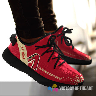 Simple Logo Arizona Diamondbacks Sneakers As Special Shoes