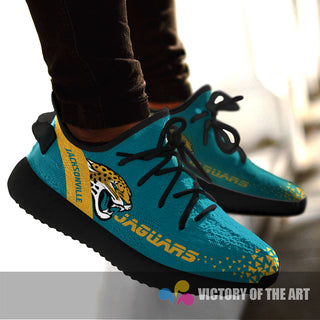 Simple Logo Jacksonville Jaguars Sneakers As Special Shoes
