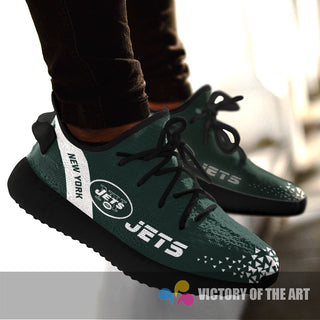 Simple Logo New York Jets Sneakers As Special Shoes