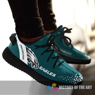 Simple Logo Philadelphia Eagles Sneakers As Special Shoes