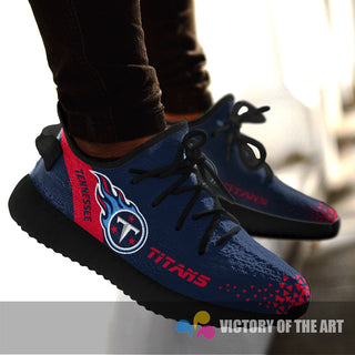 Simple Logo Tennessee Titans Sneakers As Special Shoes