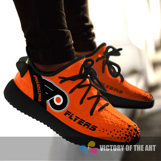Simple Logo Philadelphia Flyers Sneakers As Special Shoes