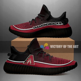 Words In Line Logo Arizona Diamondbacks Yeezy Shoes