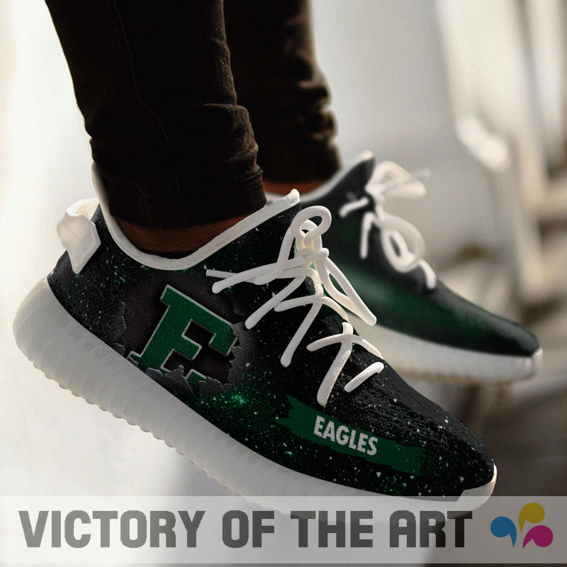 Art Scratch Mystery Eastern Michigan Eagles Shoes Yeezy