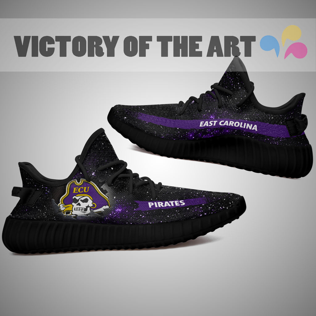 Art Scratch Mystery East Carolina Pirates Shoes Yeezy
