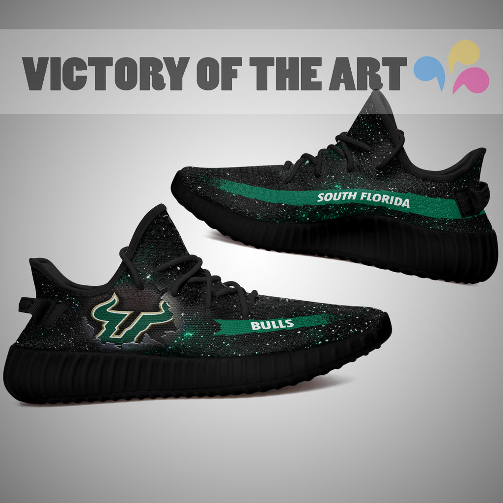 Art Scratch Mystery South Florida Bulls Shoes Yeezy