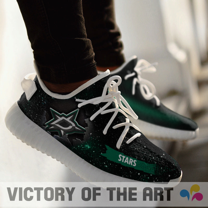 Art Scratch Mystery Dallas Stars Shoes Yeezy