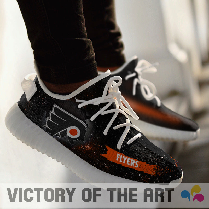 Art Scratch Mystery Philadelphia Flyers Shoes Yeezy
